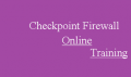 checkpoint firewall Online Training Classes With Real Time Support From India
