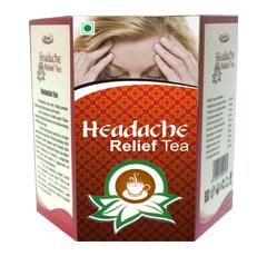 Headache relief tea is refined with a rare blend of herbal citation which acts as a great tonic for