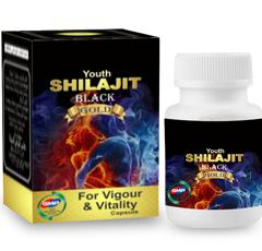 Youth Shilajeet B&G capsule is made up of natural substance called Shilajit rich in natural biochemi