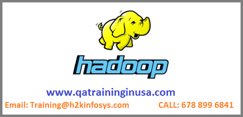 Big Data Hadoop Online Training Course
