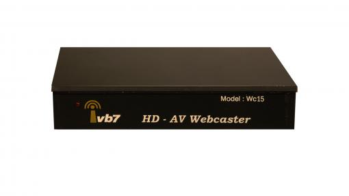 HD/AV Dual Live Streaming Webcaster