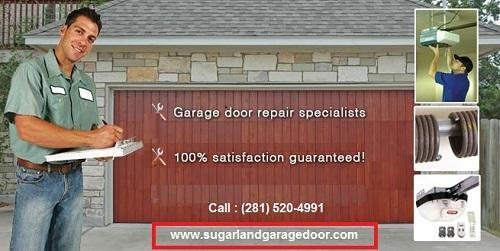 24/7 New Garage Door Installation Sugar Land, TX Starting $ 26.95