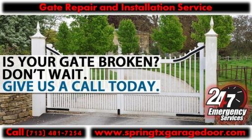 Emergency Gate Opener Repair and Gate Installation | Starting $26.95