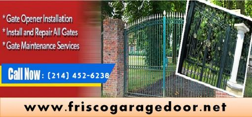 Starting $26.95 Gate Opener Repair Service | Frisco, Dallas
