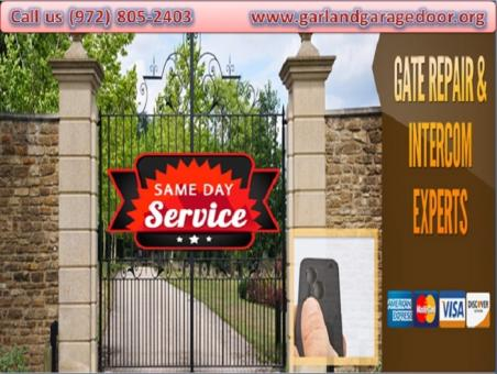 24/7 Gate and Gate Openers Repair Garland, TX @ Starting $26.95