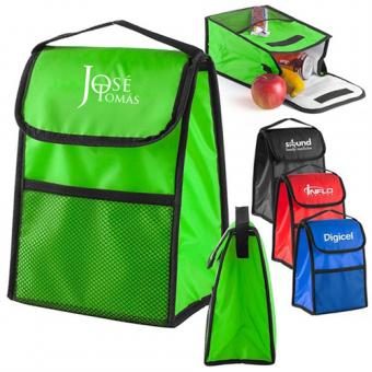 Wholesale Lunch Cooler Bag With Mesh Pocket from China